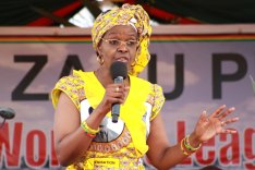 Grace-Mugabe-speaking-during-a-rally-in-Mbare-yesterday-Pic-Shepherd-Tozvireva