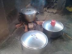 some of the pots at Chikurubi